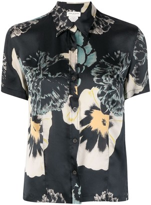 Dries Van Noten Pre-Owned 2000s Floral Print Shirt