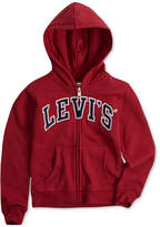 Levi's Iconic Fleece Hoodie, Little Girls
