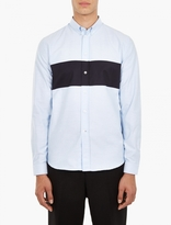 Ami Striped Cotton Oxford Shirt