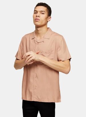 Topman CONSIDERED Brown Revere Shirt