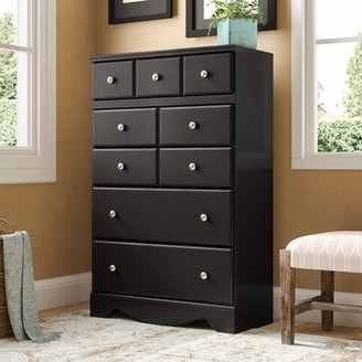 Charlton Home Chittum 5 Drawer Standard Dresser/Chest Charlton Home