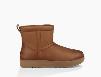 UGG Classic Mini Leather Waterproof Boot