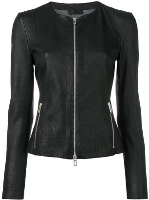Drome Zipped Fitted Jacket