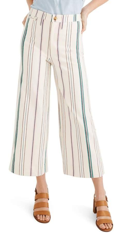 c247d4f39 Madewell High Waist Crop Wide Leg - ShopStyle