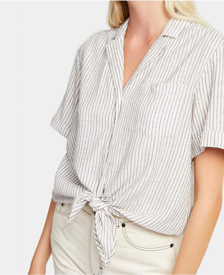 8d62b8dc575 Womens Linen Button Up Shirt - ShopStyle