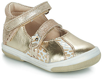 GBB SYBILLE girls's Shoes (Pumps / Ballerinas) in Gold