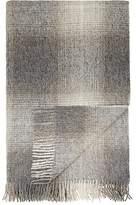Agnona Plaid Alpaca-Wool Throw