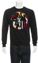 Christian Dior Embroidered Crew Neck Sweater