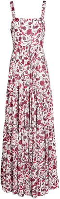 Alexis Zofia Sleeveless Floral Maxi Dress