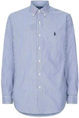 Polo Ralph Lauren Striped Cotton Oxford Shirt
