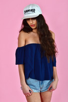 Otis & Maclain June Top | Indigo