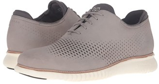 Cole Haan 2.Zerogrand Laser Wing Oxford (British Tan/Java) Men's Lace up casual Shoes