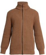 Lanvin Zip-front wool cardigan
