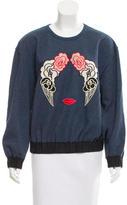 Stella McCartney Embroidered Pullover Sweatshirt