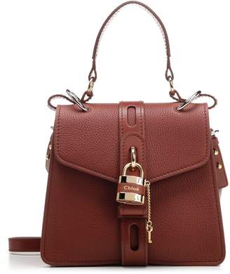 Chloé Aby Logo Padlock Top Handle Bag