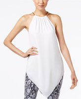 Alfani V-Hem Halter Tunic, Only at Macy's
