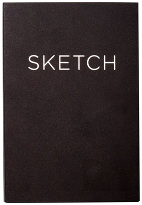 Picadilly Open Bound Sketchbook Small Black