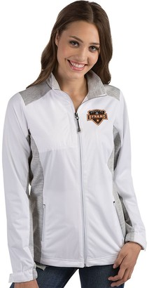 Antigua Women's Houston Dynamo Revolve Full Zip Jacket