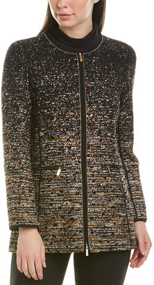 Lafayette 148 New York Karina Wool-Blend Jacket