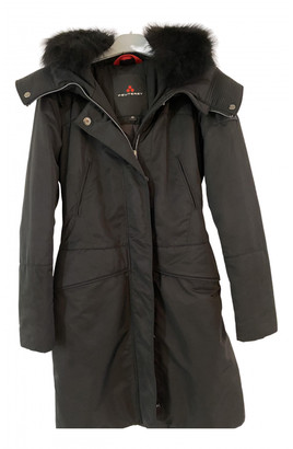 Peuterey Black Synthetic Coats