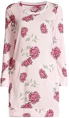 Kate Spade Women's Blooming Print Brushed Sleepshirt