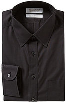 Roundtree & Yorke Gold Label Non-Iron Slim-Fit Point Collar Solid Long-Sleeve Dress Shirt