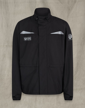 Belstaff Long Way Up Rain Jacket Black