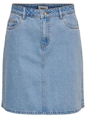 Dorothy Perkins Womens **Only Light Blue Denim Skirt, Blue