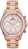 Croton Women's Austrian Crystal & Cubic Zirconia Stainless Steel Watch