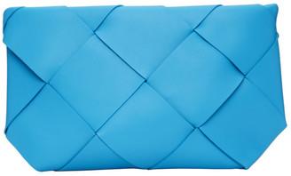Bottega Veneta Blue Max Intrecciato Pouch