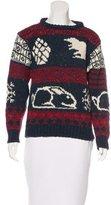 Thom Browne Wool Intarsia Sweater