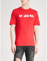 Diesel T-just-sl Cotton-jersey T-shirt