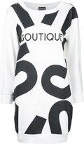 Moschino Boutique print T-shirt dress - women - Cotton - 40