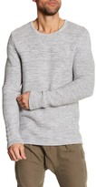 Saturdays NYC Wade Crew Neck Knit Sweater
