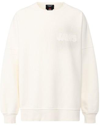 Calvin Klein Jaws Sweatshirt Off-white