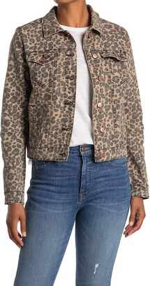 STS Blue Fitted Animal Print Denim Jacket