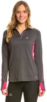 Salomon Women's Trail Runner Warm LS Zip 8137736