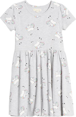 Tucker + Tate Kids' Print Short Sleeve Dress