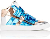 MM6 MAISON MARGIELA Women's Double-Strap Mid-Top Sneakers-BLUE