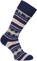 Barbour Castleside Navy Socks