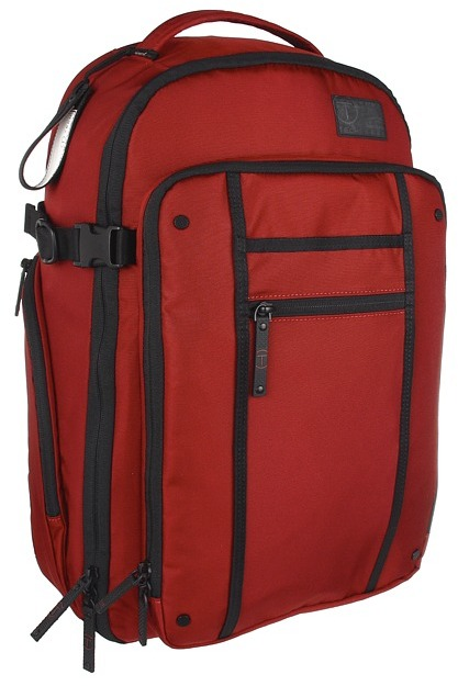 Tumi T-Tech Icon - Jerry Wheeled Backpack (Sienna Red) - Bags and Luggage