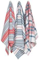Now Designs Jumbo Pure Kitchen Towel, Independence, Set of 3