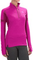 The North Face Impulse Active Shirt - Zip Neck, Long Sleeve (For Women)