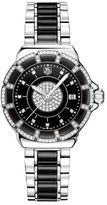 Tag Heuer Ladies' Formula 1 Diamond Bezel and Black Dial Watch