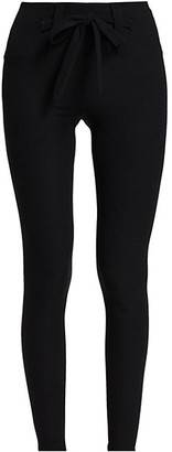 YEAR OF OURS Heather Tie-Waist Leggings