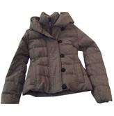 Duvetica Grey Wool Jacket for Women