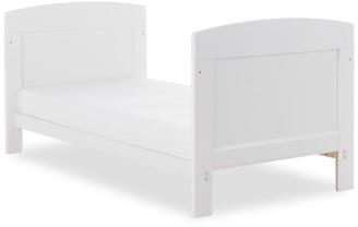O Baby Grace Mini Cot Bed - White