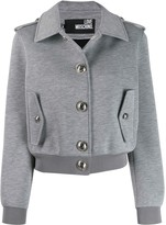 Love Moschino button detail jacket
