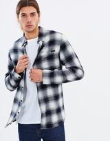 Rusty Shadowed Long Sleeve Shirt