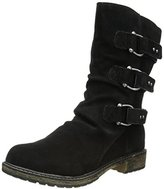 Skechers Women's Ruched Motorcycle Boot
